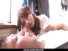 Mei Aso made to swallow after a dazzling fuck