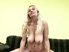 Filming my cuckold cougar with with a neighbor