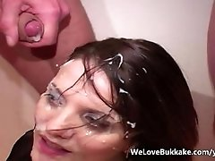 Slow mo amateur facial cumshot compilation
