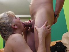 Hairy moms fuck young dirty sons