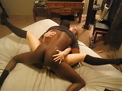 Amber Blank interracial cum slut