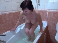 OldNanny Two horny woman masturbate hard
