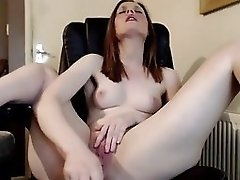 On webcam cumming twice with vibrator